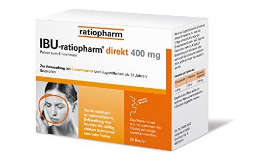IBU-ratiopharm direkt 400 mg Pulver zum Einnehmen, 20 St