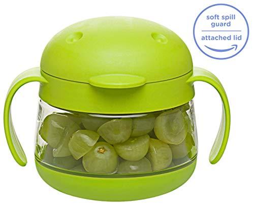 Ubbi U10303 - Contenedor snacks, color verde