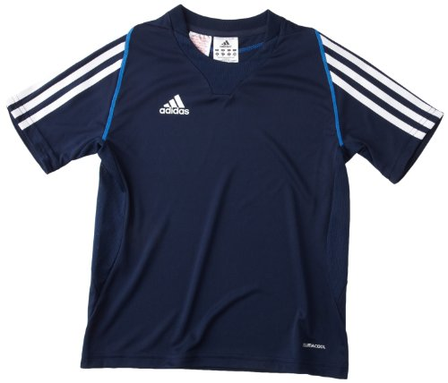 adidas Kinder Trainingsshirt T12 CC Short Sleeveee, Collegiate Navy / Air Force Blue, 140, X34265 (Air-force-kinder-t-shirt)