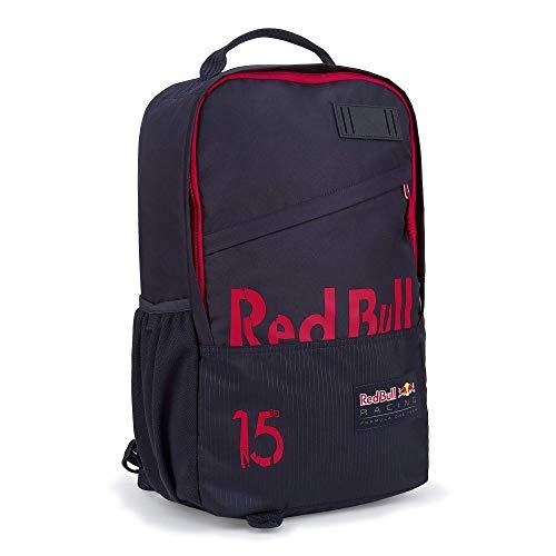 Red Bull Racing Letra Rucksack, Blau Unisex One Size Backpack, Red Bull Racing Aston Martin Formula 1 Team Original Bekleidung & Merchandise