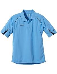 JAKO Kinder Polo Shirt Passion, Skyblue/Marine, 140, 6387