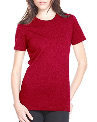 Next Level Damen T-Shirt Rot - Scharlachrot