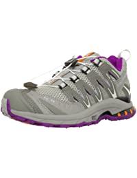 6672f5d34be Salomon XA Pro 3D Ultra 2 w Gris Violet Femme Chaussures Running Trail