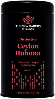 Thé noir de Ceylan Ruhuna - En boite hermétique de 125g
