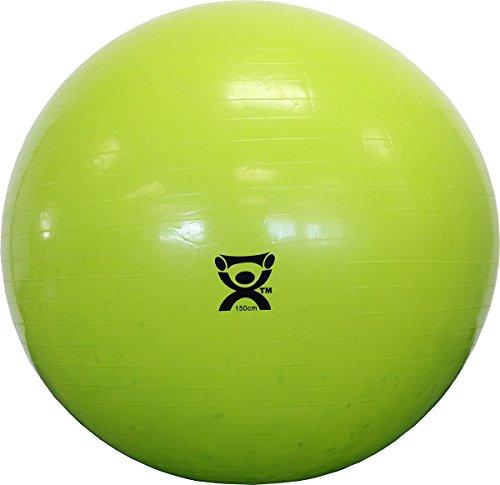 Cando 1015272 Gymnastikball, gelb, 150 cm