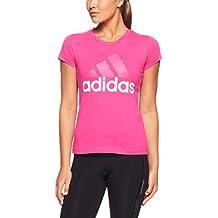 adidas ESS Li SLI Camiseta, Mujer, Magenta Real, L