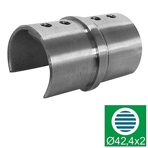 Handlauf - Glashalter - Kupplung ,D42,4x1