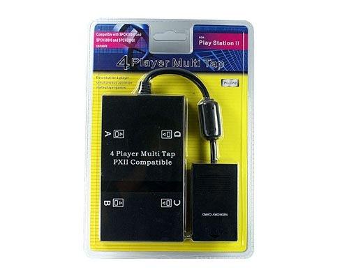 PS2 Multitap Adapter Converter, 4 Controller Port, für PS2 und PS2 Slimline - Slimline-ps2