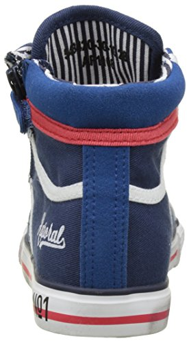 Kaporal - Billal, Pantofole a Stivaletto Bambino Blu (Marine)
