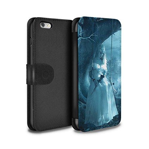 Officiel Elena Dudina Coque/Etui/Housse Cuir PU Case/Cover pour Apple iPhone 6S+/Plus / Relation amicale Design / Art Amour Collection Luz Sombra