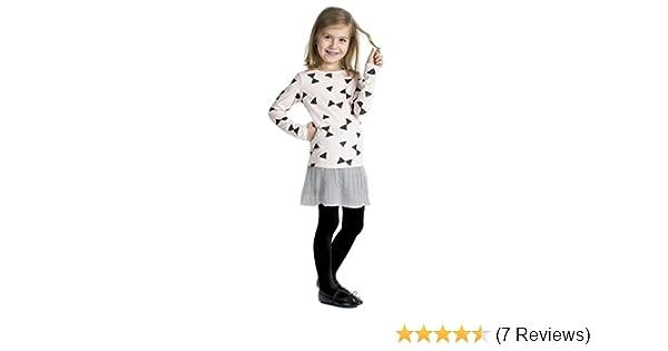 Girls Tights Plain Opaque 40 Denier Microfibre Age 2-12 Years-30 Various Colours