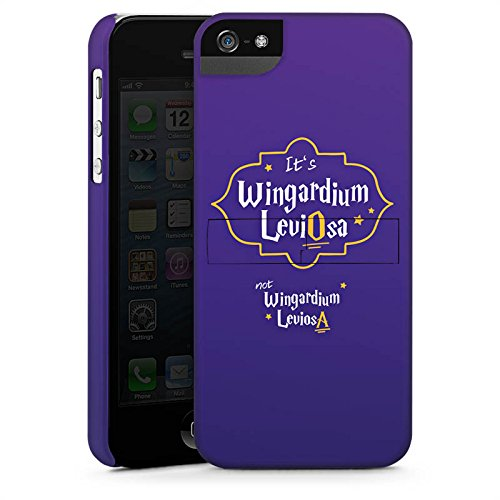 Apple iPhone X Silikon Hülle Case Schutzhülle Wingardium Leviosa Harry Potter Zauberspruch Premium Case StandUp