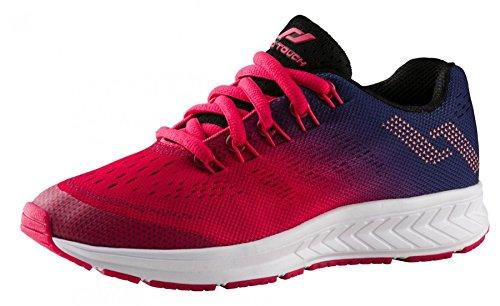 Pro Touch Unisex-Kinder Run-Schuh OZ 2.0 Junior Laufschuhe Blau (Navy/Pink/Rot 000) 35 EU
