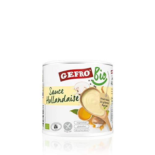 GEFRO BIO Sauce Hollandaise Helle Soße zu Spargel, Gemüse, Fisch und Fleisch