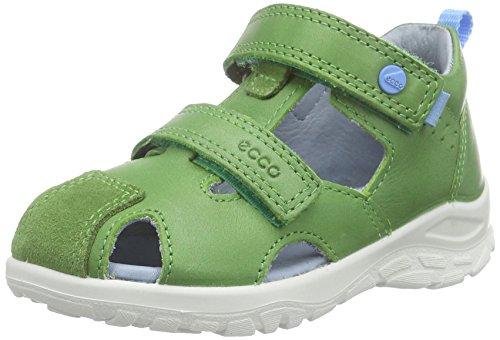 Ecco ECCO PEEKABOO, Sandales premiers pas bébé garçon Vert - Grün (CACTUS/CACTUS56537)