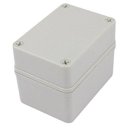 DealMux 110mm x 80mm x 85mm Plastic Waterproof Sealed Enclosure Case DIY Junction Box -