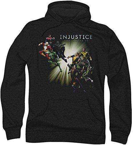 Injustice Gods Among Us - - Good Vs Mal capuche pour homme Injustice Gods Among Us -05 (L)