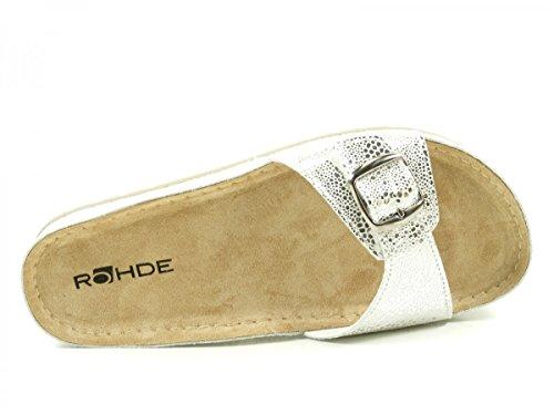 Rohde Riesa 5801-89 Infradito donna Silber