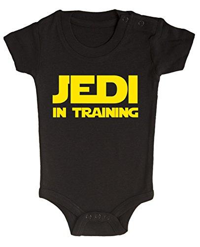 BODY tutina pagliaccetto bimbo neonato Star Wars Jedi in training 6 mesi
