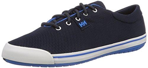 Helly Hansen SCURRY LO, Low-Top Sneaker uomo, Blu (597 Navy / Racer Blue / Sunris), 42