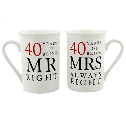 40th Wedding Anniversary Gift Ideas For Friends: 40th Wedding Anniversary: Amazon.co.uk
