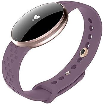 Q&M Mujer Reloj Inteligente Seguidor de la Aptitud con Sueño de ...