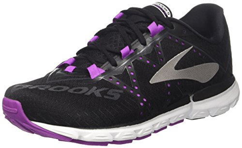 Brooks Women's Neuro 2 Running Shoes, Multicolour (Black/Purplecactusflower/White B099), 38 38 EU