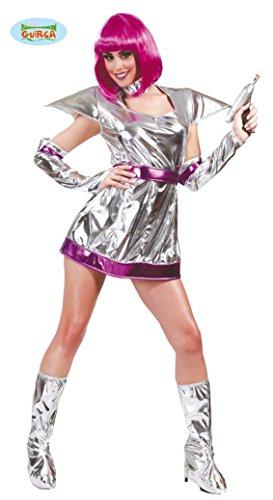 Space Girl Kostüm für Damen Gr. M/L, Größe:L (Zukunft Kostüm)