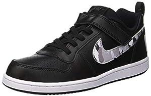 Nike Court Borough Low (PSV), Chaussures de Fitness Garçon, Multicolore (Black/Multi/Color/Pure Platinum/White 005), 33.5 EU