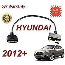 Cable audio conector USB 3.5mm apto Hyundai i20 ix20 i30 i40 ix35 Sante Fe i800 iLoad ipod iphone