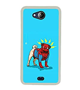 ifasho Designer Phone Back Case Cover Micromax Canvas Play Q355 ( Stone Type Pattern Design )