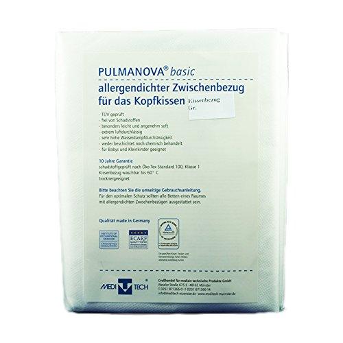Preisvergleich Produktbild Kissenbezug Anti-Allergie PULMANOVA basic 40x80cm, Allergikerbettwäsche und Matratzenbezüge