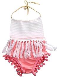 SAMGU Nouveau-né Enfants Baby Girl Romper bébé Jumpsuit Bodysuit Tutu robe Vêtements Outfit