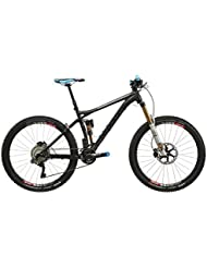 "VOTEC VM Evo Di2 - All Mountain Fully 27,5"" - anodized black matt/dark grey glossy Tamaño del cuadro XL / 53 cm 2017 MTB doble suspensión"