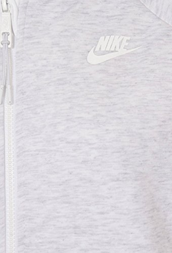 Nike Tech Fleece Ccoon-Mesh Veste pour femme verde / blanco (birch heather / white / white)