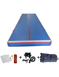 WMAOT Colchón Inflable de Estera para Gimnasia y Yoga de Desporte al Aire libre (Air Track 10m*2m*20cm)