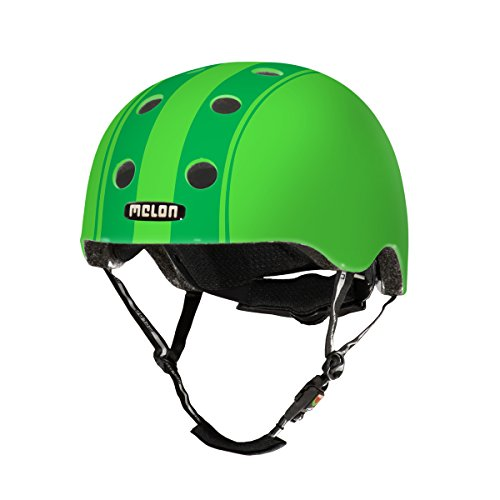 Melon Urban Active dezentes doppelt Helm, Urban Active, Grün, matt