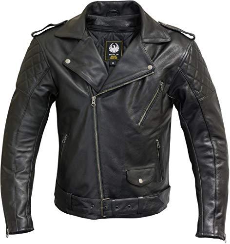Merlin Pilsbury Motorrad Lederjacke XXL