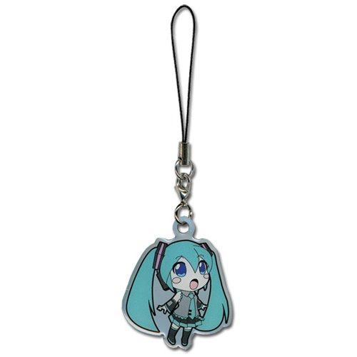 Vocaloid Miku Hatsune mobile phone charm