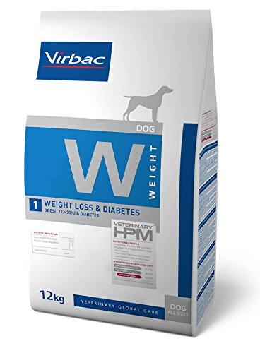 HPM Dieta para perros W1-dog weight loss & diabetes