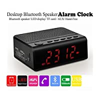 VPW VPW MX-19 Masaüstü Alarm Saat, Bluetooth Hoparlör