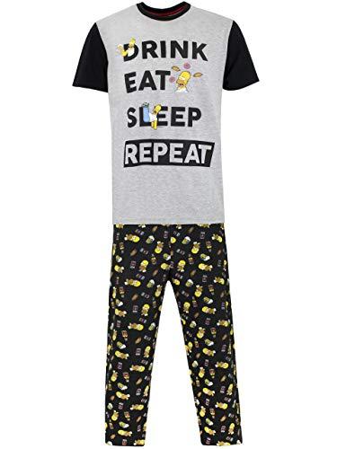 Simpsons Pijama para Hombre Homer