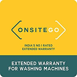 OnsiteGo 1 Year Extended Warranty for Washing Machines between Rs. 0 to Rs. 12000