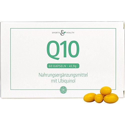 Coenzym Q10 Kapseln mit 100mg Ubiquinol pro Kapsel Hochdosiert - Beste Bioverfügbarkeit - 2 Monatsvorrat -