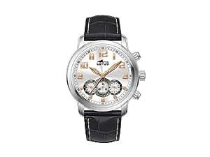 Lotus - 9982-C - Montre Homme - Quartz Chronographe - Chronomètre - Bracelet Cuir Noir