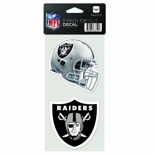ges gestanztes Aufkleber, 10,2 x 20,3 cm, Oakland Raiders ()