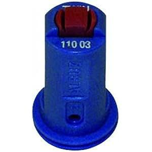 Buse à double fente anti derive à aspiration d'air venturi AVI 110° bleue