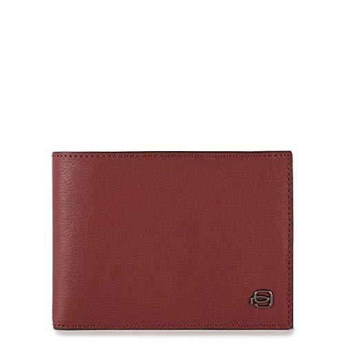 c83499a31f Portafoglio Uomo con portamonete | Piquadro Black Square | PU257B3R-Rosso