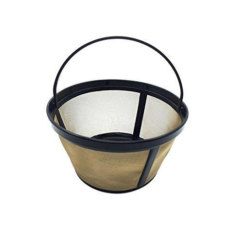 er Golden Lifting Typ Edelstahl Kaffeefilter Ersatz für Cuisinart # 4 Kaffeefilter passt xx Thermal 12-Cup programmierbare Kaffeemaschine ()