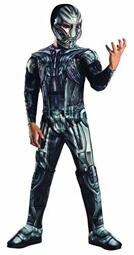 Ultron The Avengers Deluxe Kostüm für Kinder, Größe:L